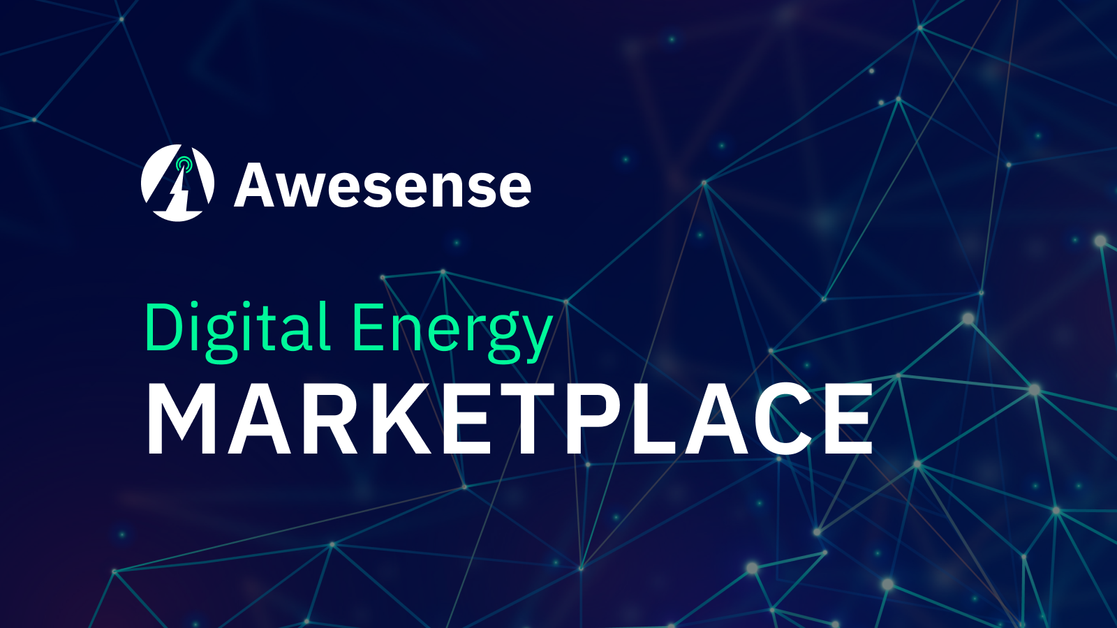 Awesense launches one-of-a-kind digital energy Marketplace to empower development of clean energy solutions